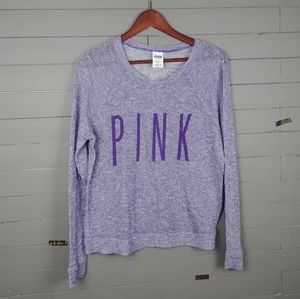 Pink Victoria's Secret Loose knit Sweater